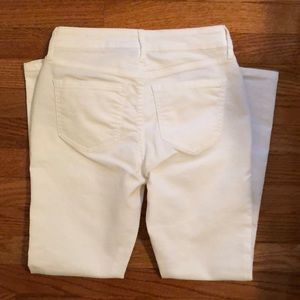 NWOT Old Navy super skinny white jeans